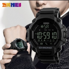 SKMEI Laki-laki  Smart Watch Chronograph Kalori Pedometer Multi-fungsi Olahraga Watches Pengingat Digital Jam Tangan Relogios 1249 -Intl