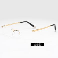 Ulasan Laki Laki Tanpa Bingkai Pemangkasan Frame Kacamata Tanpa Bingkai Kaca Mata
