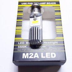 Lampu Depan Motor Led H6 Philips Lamp Bead - Putih
