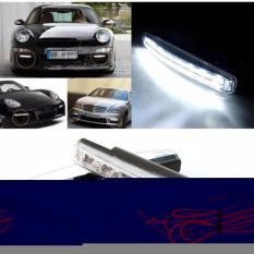 Lampu Fog Light Mobil Daytime LED 6000K 12V s2715 - Black