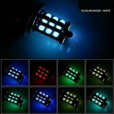 LAMPU FOGLAMP H11 H8 LED RGB ANEKA WARNA DENGAN REMOTE