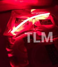 Lampu LED Alis 30 Cm Motor Mobil Fleksibel CR7