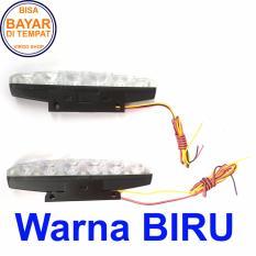 Harga Lampu Led Drl 6 Mata High Power Isi 2 Pcs Bisa Untuk Motor Dan Mobil Untuk Lampu Malam Atau Lampu Senja Biru Origin