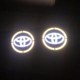 Diskon Lampu Led Logo Toyota 12V Isi 2 Pcs Branded