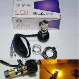 Diskon Lampu Led Motor Acdc 6Sisi Kuning H6 Hs1 H4