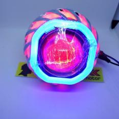 Lampu LED motor Projie angel eye