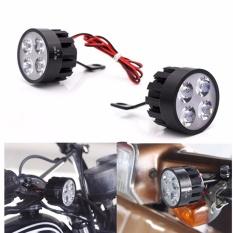 Lampu Led Sorot Motor Model Spion 2 Buah