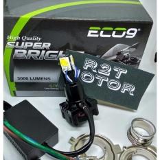lampu motor LED 3sisi arus dc utk tipe motor bebek,matic dan batangan