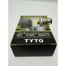 Lampu Motor Led Philips H6 Kaki 1 Matic Bebek Universal