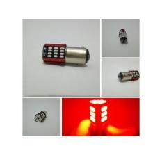Lampu Rem 57 Led Flash | Strobo | kedip Mobil Dan Motor 2 mode - Merah