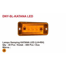 LAMPU SAMPING KATANA LED