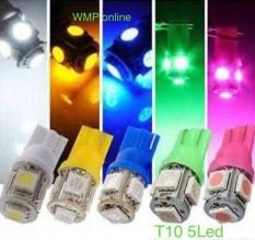Lampu Sen Sein T10 5Led Diam Putih 1Pc WMP-0457