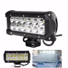 Lampu Sorot LED Cree Offroad 36 Watt 12 Titik Motor Mobil - Putih