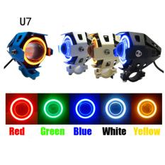 Lampu Tembak Sorot LED Cree Transformer U7 Angel Eye + Demon Eye GARANSI!!