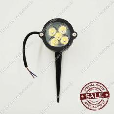 Lampu Sorot Spotlight Tusuk LED Extra Terang 5W Warmwhite Kuning Awet