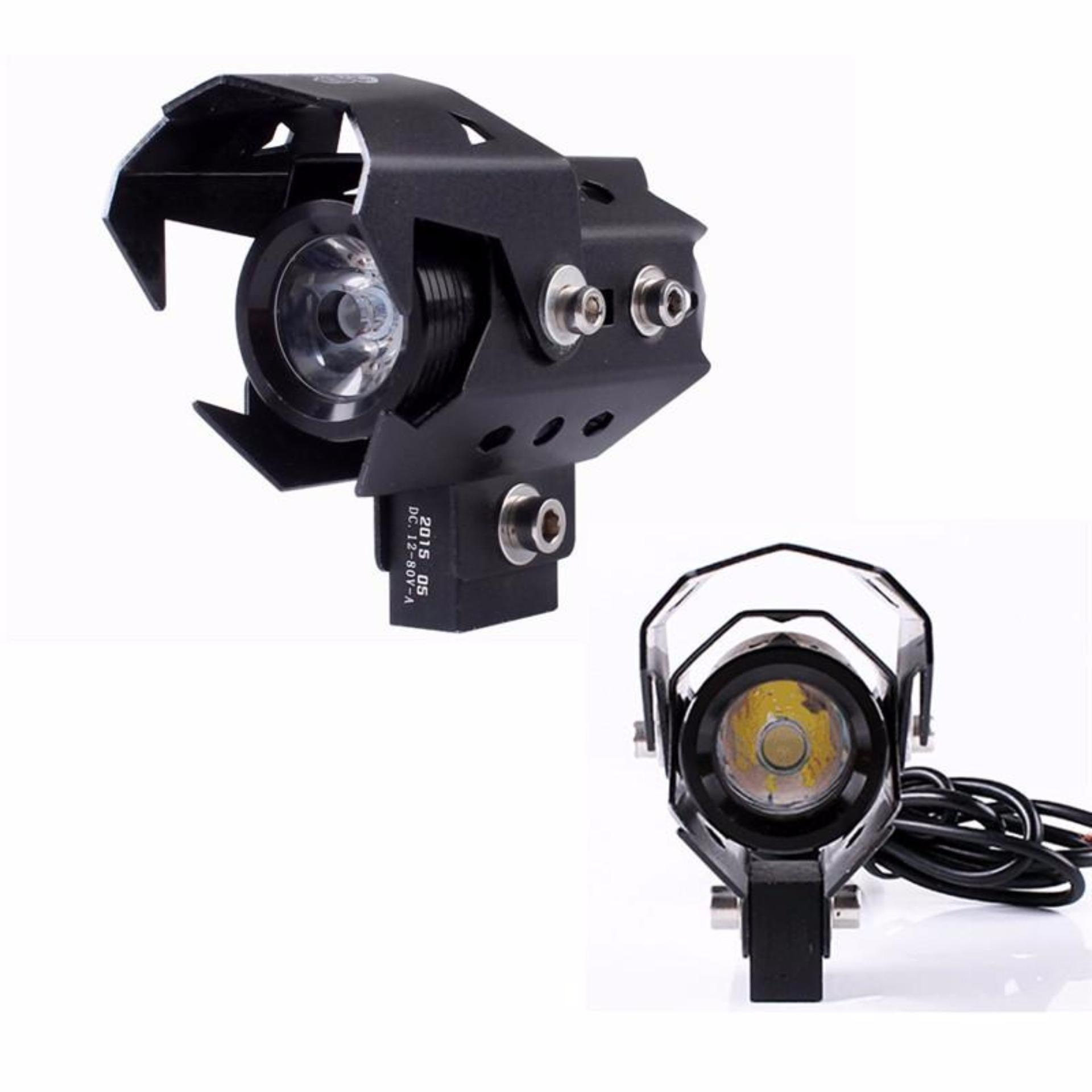 Lampu Sorot Tembak Led Rtd E05 Angel Eyes Mobil Motor