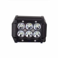 Lampu Sorot Worklight Tembak Kabut Led 6 Mata - Lampu Utama Motor Mobil (REX-MART)