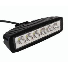 Lampu Tembak Kabut Sorot 6 Mata Sisi LED/Led Bar Cree Worklight Flood 18 Watt