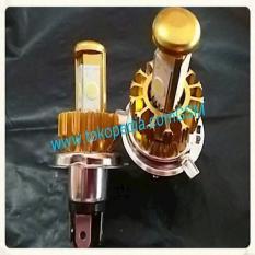 Lampu Utama LED H4 Cree 4 Sisi Headlamp LED ETI Motor Mobil Vixion Cb