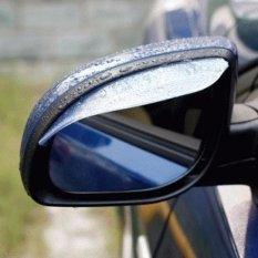 Lanjarjaya Mika Talang Air Pelindung Kaca Cermin Spion mobil Anti Air Hujan Kotor Car Rear Mirror Rain Guard / Mika Pelindung Kaca Spion
