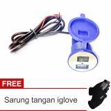 Toko Lanjarjaya Usb Charger Motor Waterproof Cas Hp Di Motor Sarung Tangan I Glove Biru Terlengkap