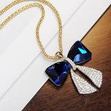 Lantingshijia Korea Fashion Style Kristal Imitasi Model Panjang Rantai Sweater Oem Diskon 50