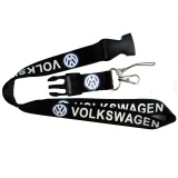 Review Lanyard Car Key Ring Chain Neck Strap Id Card Badge Holder Clip Keyring Untuk Volkswagen Vw Polo Golf Python Keychain Hitam Intl Tiongkok