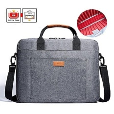 Laptop Bag, KALIDI 15.6 Inch Laptop Briefcase Messenger Bag for Dell Alienware / Macbook / Lenovo / HP , Travelling, Business, College and Office - intl