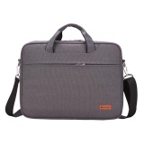 Promo Laptop Briefcase Lengan Case Menutupi Messenger Casing Untuk Macbook Air Pro Samsung Tab Hp Acer Asus Lenovo Dell Toshiba Universal 14 Inch Notebook Gray Intl Thinch Terbaru