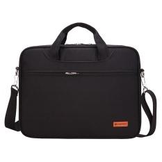Laptop Briefcase Lengan Case Menutupi Messenger Casing For Mac Buku Udara Pro Samsung Tab HP Acer Asus Lenovo Dell Toshiba Universal 15 Inch Hitam Notebook