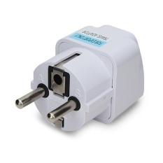 Besar dan Aman Universal AU Inggris Ke Eropa UNI Eropa Plug AC 250 V Power Travel Adapter-Intl