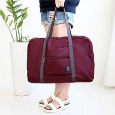 Ulasan Mengenai Perjalanan Besar Tas Penyimpanan Tahan Air Bagasi Yang Dapat Disesuaikan Dilipat Handbag Shoulder Bag Organizer Intl