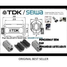Laris 102 - Pengirit BBM Magnet TDK  Seiwa Ferrite untuk Kabel Busi Coil Injector Delco Audio Diameter 5-8 mm Original