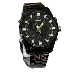 ... Dual Time JF615 Jam Tangan Pria Rubber Strap - Hitam List BiruIDR235400. Source · Lasebo - Jam Tangan Pria Stainless steel - LB1851NY Chain Black Putih