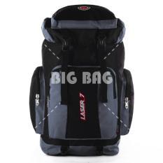 PROMO MUDIK LEBARAN - Tas Ransel Mudik / Carrier Gunung Laser7 Colorado - Outdoor Adventure Backpacking Backpack - Grey Tas Pria Tas Fashion Pria