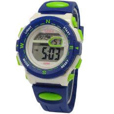 Harga Lasika Jam Tangan Anak Digital G785 Biru Satu Set