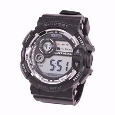 Jual Lasika W H9006 Jam Tangan Sport Remaja Unisex Full Rubber Digital Mode Antik