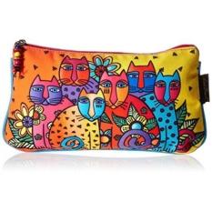 Laurel Burch Cosmetic Bag Set, Feline Clan, 3-Pack