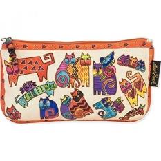 Laurel Burch Cosmetic Bag Set, Karlys Cats, 3-Pack