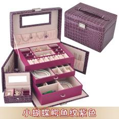 Spesifikasi Lawei Kupu Kupu Besar Putri Asesoris Kotak Kosmetik Kotak Perhiasan Murah