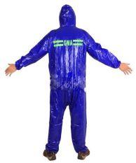 Lbag Jas Hujan Karet PCV Original GMA Raincoat Setelan Celana + Jaket Motor 100% Waterproof PVC Karet Tidak tembus air