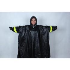 LBGS - Jas Hujan Mammoth Karet PVC Anti Tembus Air Hujan Batman Ponco kyk asv