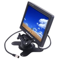 LCD Color Screen Car Monitor For Rear view Backup Camera 7 Inch - intl