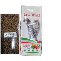 Spesifikasi Leandro Cat Alaskan Salmon Makanan Kucing Repack 3 Kg 6 X 500G Terbaru