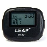 Toko Lompatan Tf6204 Pengatur Waktu Interval For Tinju Kebugaran Olahraga With Lcd Hitam Lengkap