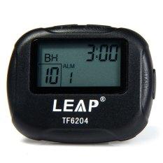 Dimana Beli Lompatan Tf6204 Pengatur Waktu Interval For Tinju Kebugaran Olahraga With Lcd Hitam Timezone
