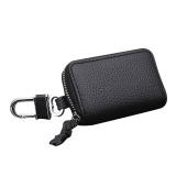 Beli Leather Car Key Storage Organization Holder Hanging Bags Purse Terbaru