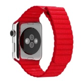 Leather Loop Band For Apple Watch 42Mm Red Promo Beli 1 Gratis 1