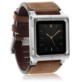 Cara Beli Kulit Multi Touch Wrist Strap Watch Band Untuk Ipod Nano Intl