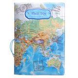 Harga Kulit Peta Dunia Pemegang Paspor Penyelenggara Kartu Perjalanan Kasus Dokumen Cover Hot Biru Oem
